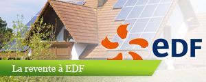 Les panneaux photovoltaïques revente à EDF